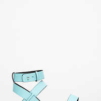 Strappy Buckled Sandals