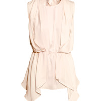 Draped top - from H&M