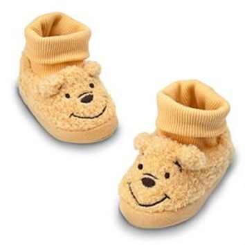 Winnie the Pooh Plush Slippers for Baby | Disney Store