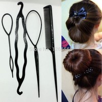 ONETOW Newest Hair Combs Women hair accessory Synchronized pull hair pin wear hair sticks
