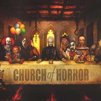 Horror Movie Last Supper Poster 24x36