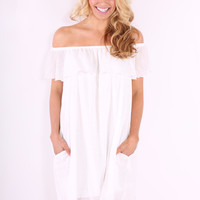 Newport Weekend Dress - Ivory