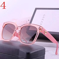 Gucci Women Men Fashion Summer Sun Shades Eyeglasses Glasses Sunglasses