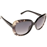 Dior BPA Flow Black Tiedye1 Round Sunglasses Lens Category 3