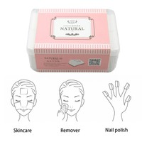 1000PCS Cotton Makeup Remover Cotton Pads Cotton Face Wipe Cleaning Pads Skin Care Face Wash Paper Cosmetics Tools