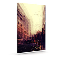 "Ingrid Beddoes ""London"" Outdoor Canvas Wall Art"