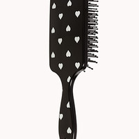 Spotted Hearts Paddle Brush