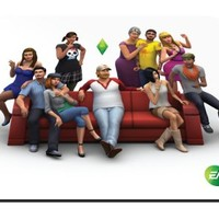 SteelSeries QcK The Sims 4 Gaming Mouse Pad