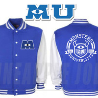 Monsters University Kids Varsity Jacket - Monsters Inc 2