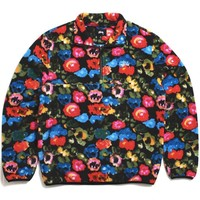 Basic Polar Fleece Mock Floral