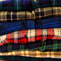 Mystery Flannel Shirt -- for Bella with Cosby order