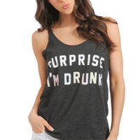 Surprise I'm Drunk Graphic Tee