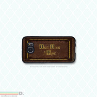 Once upon a Time, Custom Phone Case for Galaxy S4, S5, S6