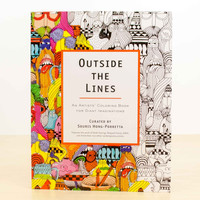 Outside The Lines: An Artists' Coloring Book