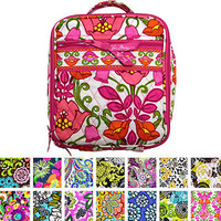Vera Bradley Lunch Break Lunch Box Handbag Zip Closure Bag Many Colors New