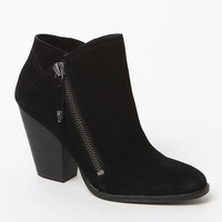 Dolce Vita Highlander Suede Booties - Womens Boots