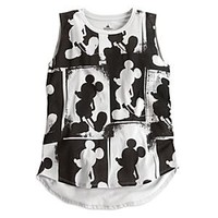 Mickey Mouse Sleeveless Tee for Women | Disney Store