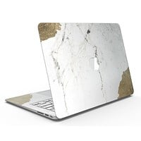 Gold Foiled Marble v2 - MacBook Air Skin Kit