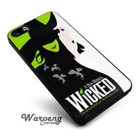 Wicked musical iPhone 4s iphone 5 iphone 5s iphone 6 case, Samsung s3 samsung s4 samsung s5 note 3 note 4 case, iPod 4 5 Case