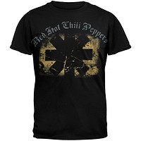 Red Hot Chili Peppers - Textured Rectangles Youth T-Shirt