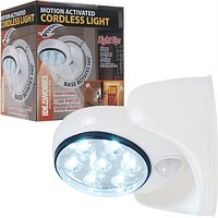 Ideaworks Motion Activated Cordless Light - White