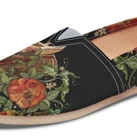 Embroidery Horse Casual Shoes