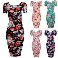 2016 women Chinese style retro clothing new arrival women ladies short sleeve floral vintage 50s dress maxi white ladies