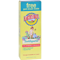 Earth's Best Toddler Toothpaste Strawberry Banana - 1.6 oz