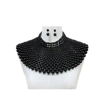 Pearl Chunky Choker Necklace