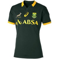 2015 South Africa Test Home Rugby Shirt (Short Sleeved)