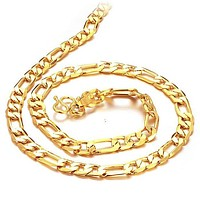 18k Gold Plated Chain for Men F