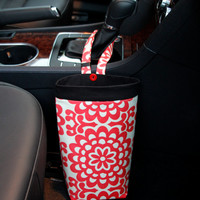 Car Trash Bag AMY BUTLER LOTUS, Women, Car Litter Bag, Auto Accessories, Auto Bag, Trash Bag, Gearshift, Headrest