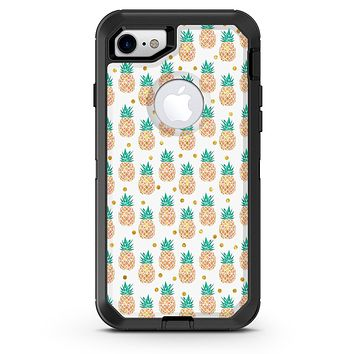Tropical Summer Pineapple v1 - iPhone 7 or 8 OtterBox Case & Skin Kits