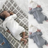 Angel Wings Cotton Baby Sleeper