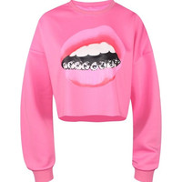 Smile For Me Women's Crop Top