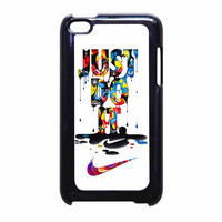 Nike Just Do It Melt iPod Touch 4th Generation Case