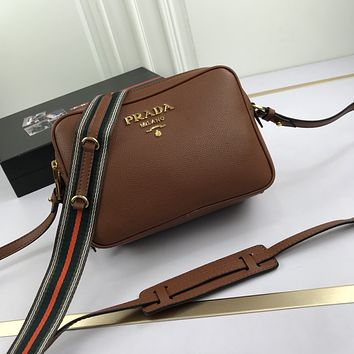 prada newest popular women leather handbag tote crossbody shoulder bag satchel 50
