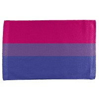 LGBT Bisexual Pride Flag All Over Hand Towel