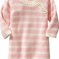 Striped Sweater Dresses for Baby