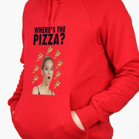 Jennifer Lawrence Where s the Pizza For Man Hoodie and Woman Hoodie S / M / L / XL / 2XL*AP*