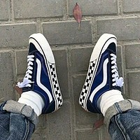 Vans classic men's and women's low-top shoes casual sports sneakers