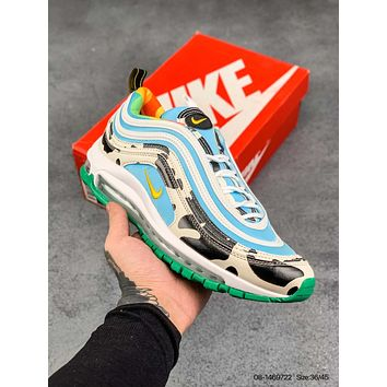 Nike Air Max 97 SE Bullet head air cushion running shoes