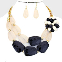 Adorn by LuLu- Wine and Dine Me Necklace