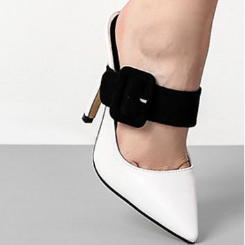 Hot style shoes with pointed toes and thin heels  shoes