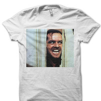 Jack Nicholson The Shining Shirt - Movie Shirts - Actors - Favorite Movie - Movie T-Shirts - Celebrity Shirts - Classic Movies FAN0027