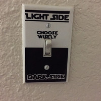 Star wars light switch decal