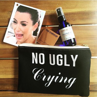 No Ugly Crying Makeup Travel Pouch