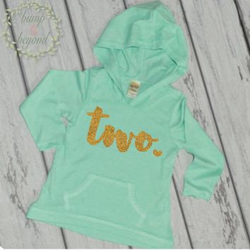 2nd Birthday Girl Outfit Secod Birthday Shirt 2 Year Old Birthday Shirt Girl Two Year Old Birthday Girl Hoodie 2nd Birthday Outfit Girl 102