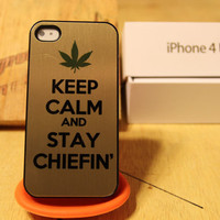 Wiz Khalifa / Asap Rocky / Gold Keep Calm Chiefin by MarlinArtwork