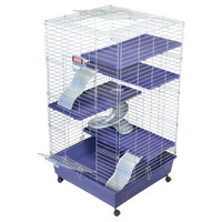 KAYTEE® Super Pet® My First Home Deluxe Multi-Level Ferret Home with Stand - Cages, Habitats & Hutches - Small Pet - PetSmart